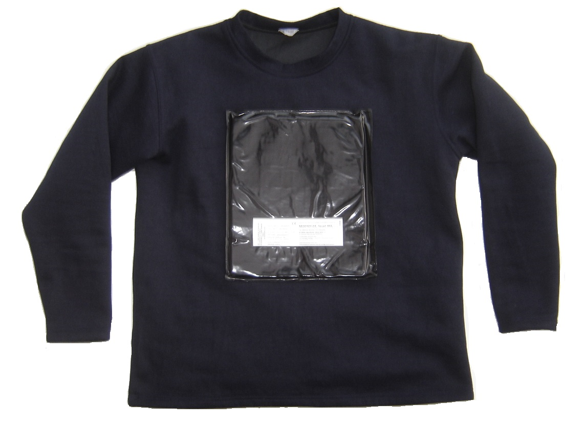 blue stab fire and nij 3a 04 bulletproof police sweater. Black Bedroom Furniture Sets. Home Design Ideas