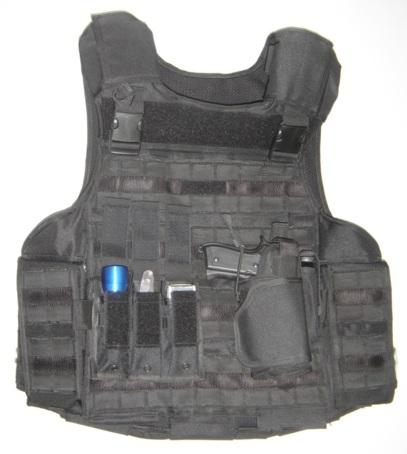 Omega home defense steekwerende vest kr1 sp1 zwart for Housse gilet pare balle gk
