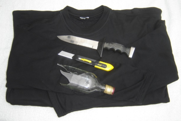 Cut Resistant T Shirt Coolmax Cutyarn Polyester Long