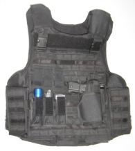 Omega Home Defense / Steekwerende vest / KR1-SP1 / Zwart