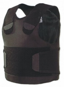 Stab - and Bullet proof vest Pollux NIJ-3A(04)GRAN Black