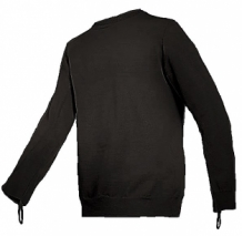 Torskin cut-resistant Long Sleeve T-Shirt and Double-Layer at Front-Black