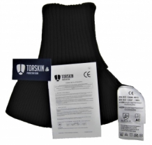Torskin cut resistant black collar