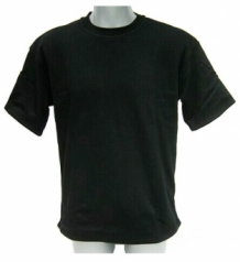 Cut resistant T-shirt / Coolmesh-Cutyarn-Polyester / Short sleeves / Black VBR-Belgium